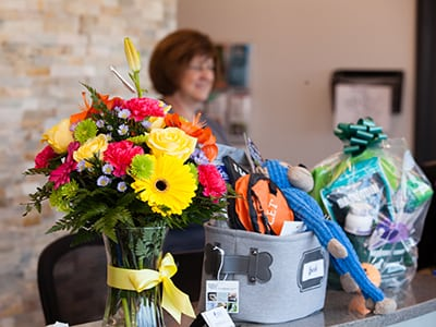 flowers and gift baskets